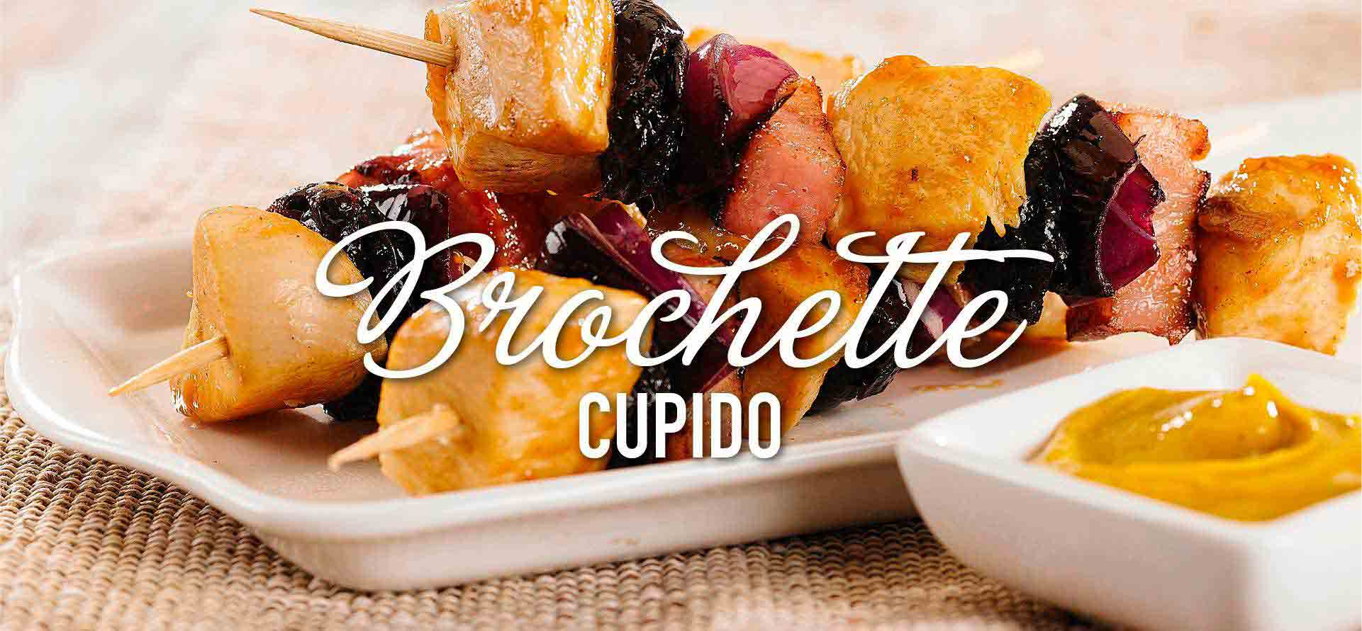 Brochette Cupido