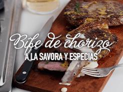 Bife de chorizo a la Savora Original y especias