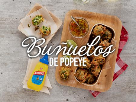 ATS: Buñuelos de Popeye con Savora Suave