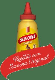 Recetas con Savora Original