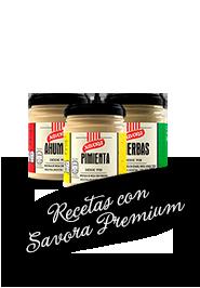 Recetas con Savora Premium